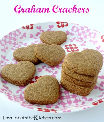 #1 Most Popular Recipe on Love to be in the Kitchen- Graham Crackers