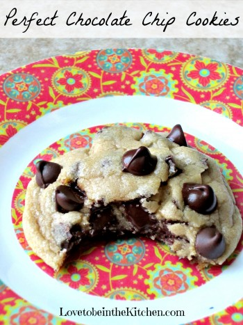 5- Perfect Chocolate Chip Cookies