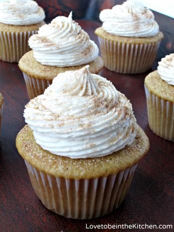 8- Snickerdoodle Cupcakes