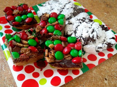 Candy Bar Shortbread