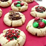 Fudge Thumbprint Cookies