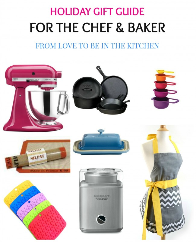 Holiday Gift Guide for the Chef & Baker
