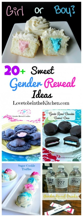 20+ Sweet Gender Reveal Ideas