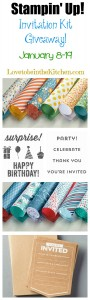 Aquarium Birthday Party & Invitation Kit Giveaway