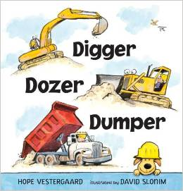 Digger Dozer Dumper