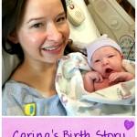 Carina's Birth Story