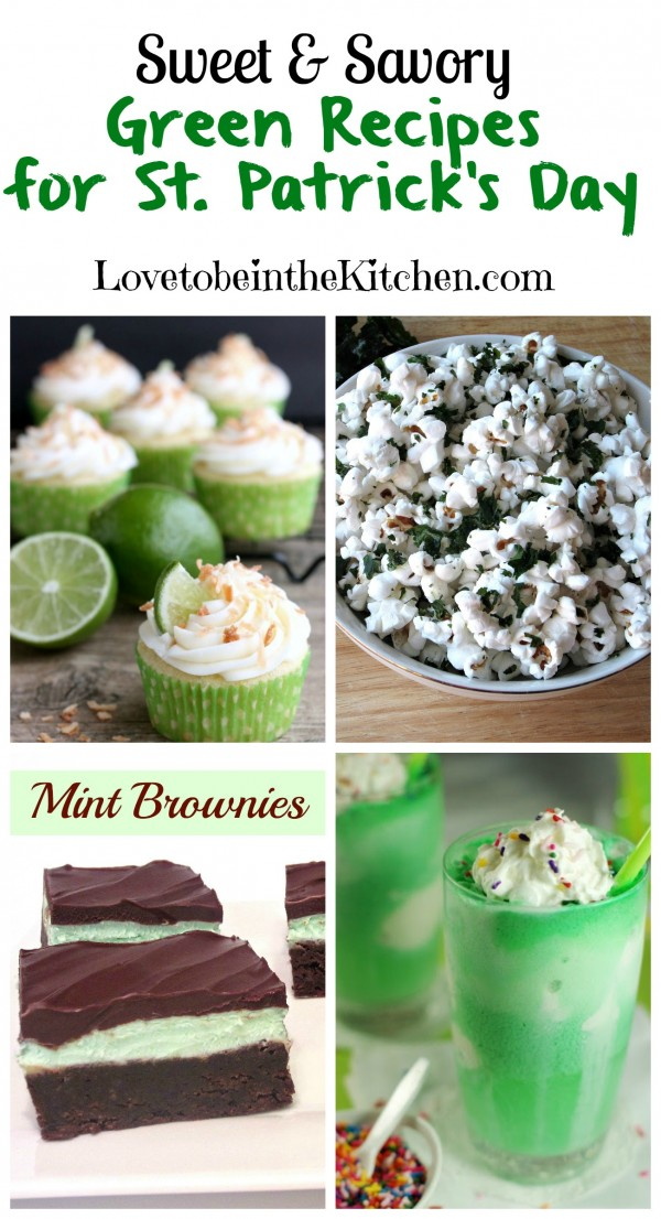 Sweet & Savory Green Recipes for St. Patrick's Day