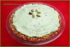 Pistachio Cream Pie (Gluten Free)