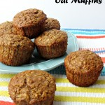 Heavenly Banana-Nut Oat Muffins