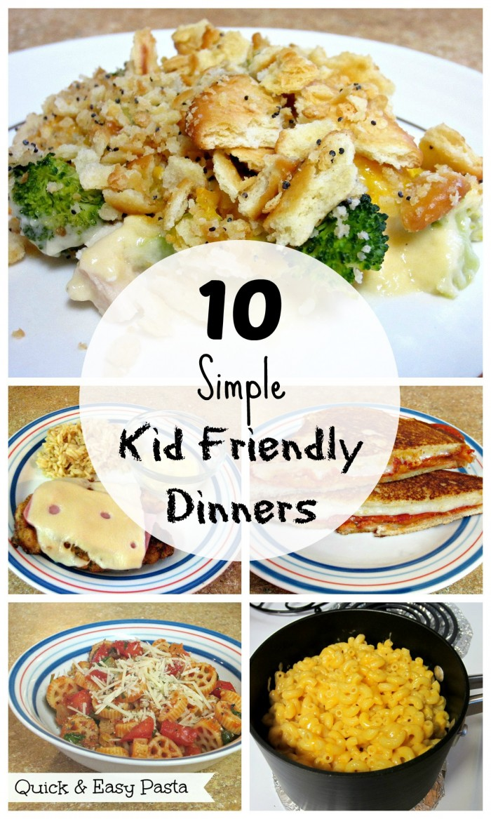 Our Kid-Friendly Recipes will have a nutritious dinner they will all love on the table in less than 20 minutes. Whether it's favorites like pizza, macaroni and cheese, or fish sticks, you'll find healthy versions of all the dishes your children love. The best part is that adults will enjoy these creative recipes too.