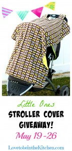 Little Ones Stroller Covers Giveaway