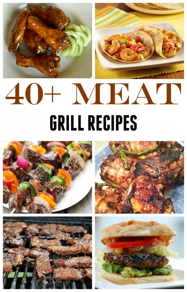 40+ Meat Grill Recipes