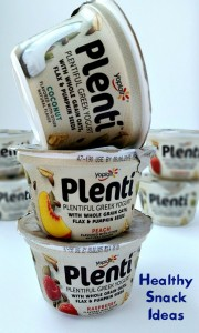 Healthy Snack Ideas with Yoplait Plentí