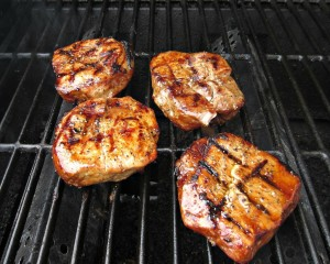 Marinated Grilled Pork Chops
