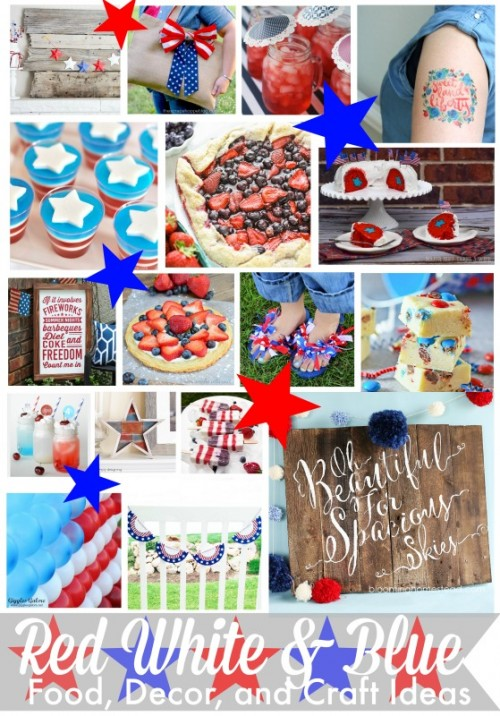 Red-White-and-Blue-Food-Decor-and-Craft-Ideas