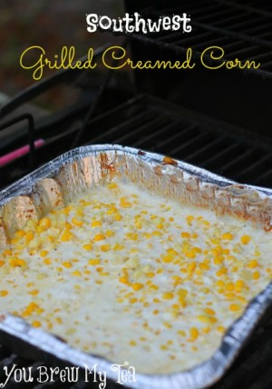 Southwest Grilled Creamed Corn