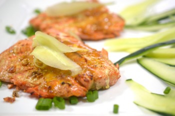 Sriracha Salmon from the Grill
