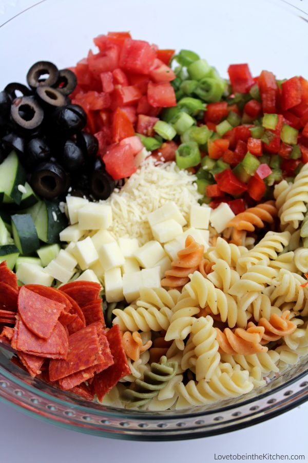 Supreme Pasta Salad Recipe