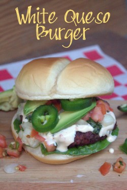White Queso Burgers