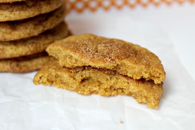 Pumpkin Snickerdoodles Cookies