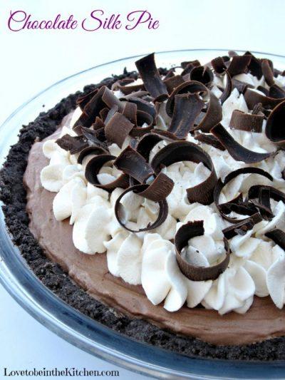 Chocolate Silk Pie