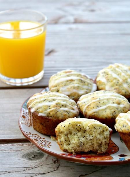 Orange Poppyseed Muffins