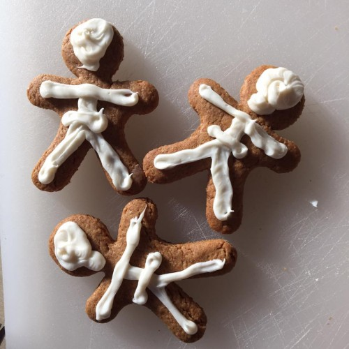 Skeleton Graham Crackers