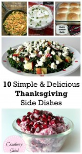 10 Simple and Delicious Thanksgiving Side Dishes
