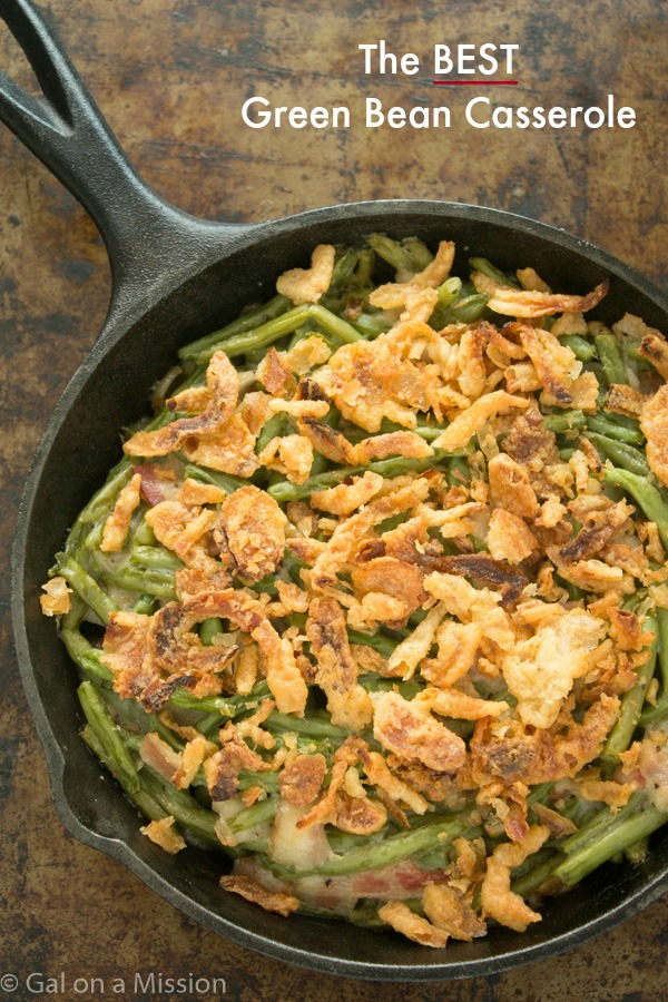 10 simple and delicious thanksgiving side dishes love to for Easy thanksgiving green bean recipes