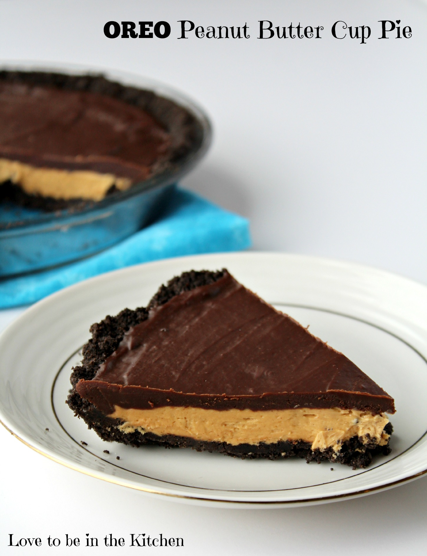 Oreo Peanut Butter Cup Pie – Like eating a peanut butter cup but 10x ...