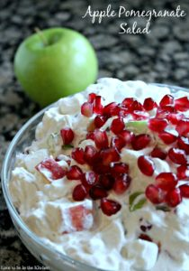 Apple Pomegranate Salad