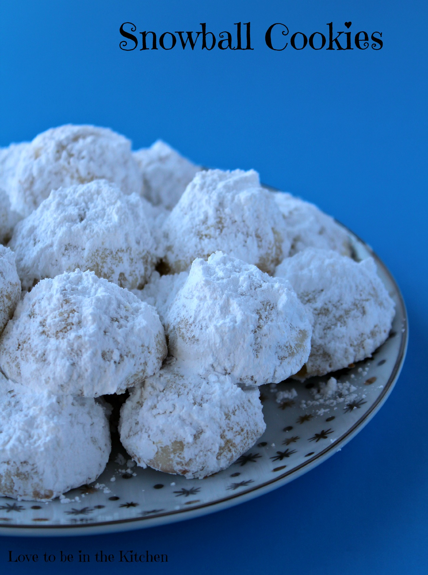 ... Snowball Cookies look like mini snowballs! The perfect Christmas