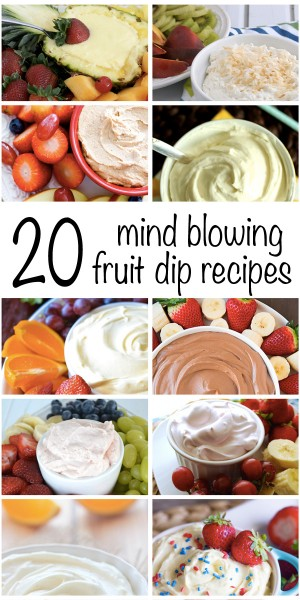 20 Mind Blowing Fruit Dips