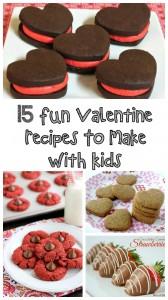 15 Fun Valentine Recipes to Make With Kids