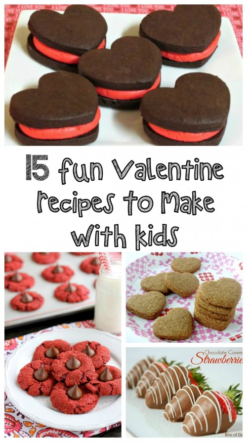 15 Fun Valentine Recipes to Make With Kids - Love to be in the Kitchen