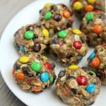 No Bake Monster Cookie Energy Bites