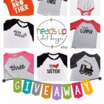 Heads Up Shirt Designs Giveaway
