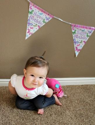 Carina First Birthday!