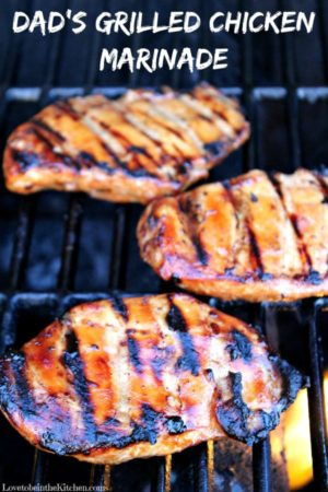 Dad's Grilled Chicken Marinade