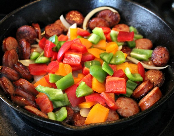 Smoked Sausage Hash