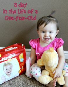 A Day in the Life of a One-Year-Old
