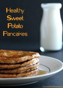 Healthy Sweet Potato Pancakes
