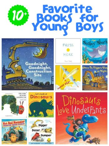 10+ Favorite Books for Young Boys