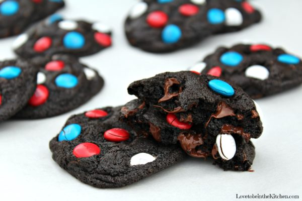 Patriotic Chocolate Cookies