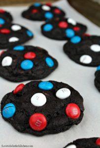 Patriotic Chocolate Cookies