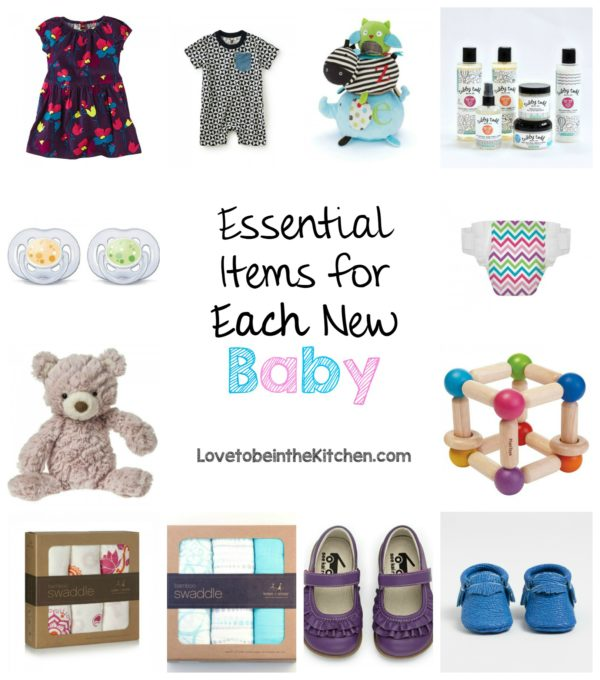 Essential Items for Each New Baby