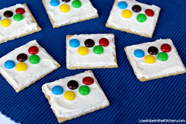 Olympic Ring Graham Crackers