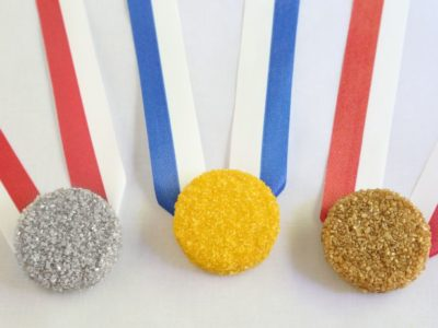 Medal Cookies from The Food Network