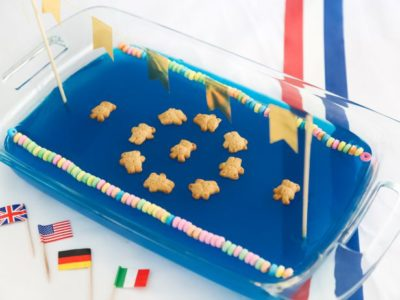 Synchronized Swimming Gelatin Pool from The Food Network