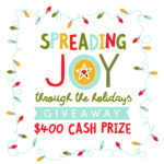 Spreading Joy $400 Cash Giveaway + Thick Chocolate Chip Cookies